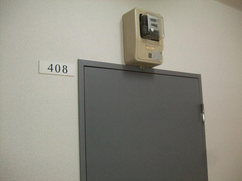 408号室ドア