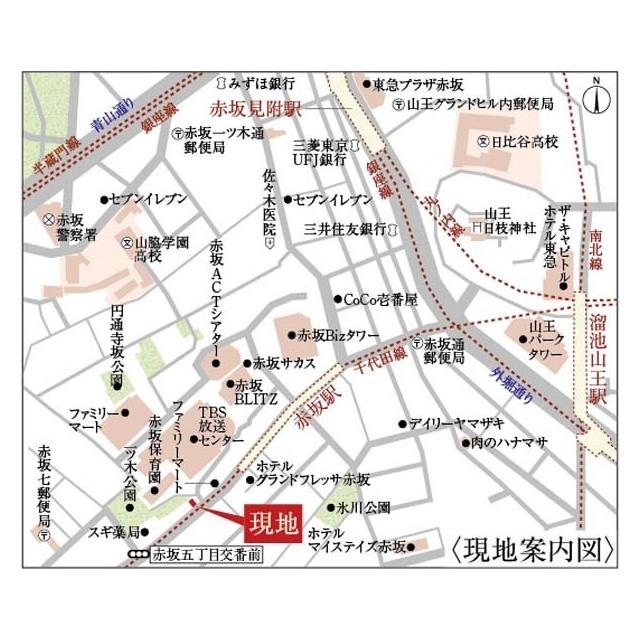 リヴシティ案内図